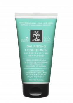 APIVITA BALANCING CONDITIONER FOR OILY ROOTS AND DRY ENDS