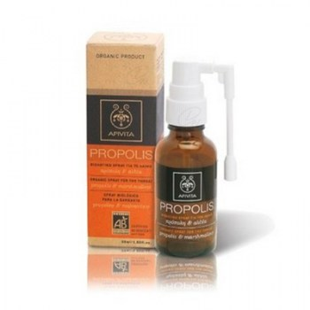 APIVITA ORGANIC PROPOLIS SPRAY FOR THE THROAT 30ML