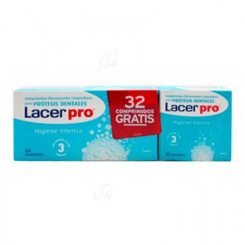 LACER PRO CLEANING TABS 64 + 32 TABLETS FOR FREE