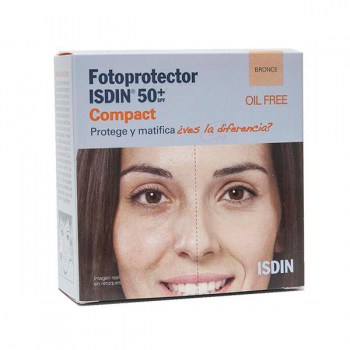 FOTOPROTECTOR ISDIN COMPACT SPF 50+ BRONZE 10 G
