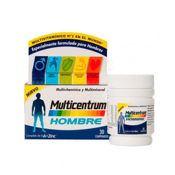 MULTICENTRUM MEN 30 TABLETS (CENTRUM OVERSEAS)
