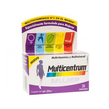 MULTICENTRUM WOMEN 30 TABLETS (CENTRUM OVERSEAS)