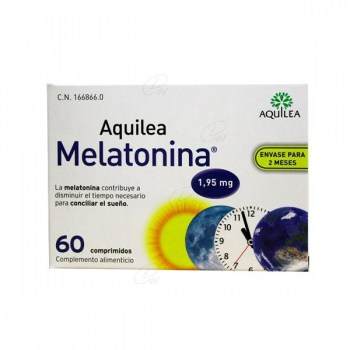 AQUILEA MELATONIN 1,95 MG 60 TABLETS