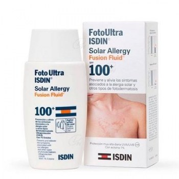 FOTO ULTRA ISDIN SOLAR ALLERGY FUSION FLUID SPF 100+ 50 ML