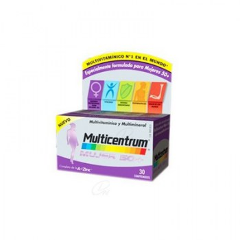 MULTICENTRUM WOMEN 50+ (CENTRUM OVERSEAS) 30 TABLETS