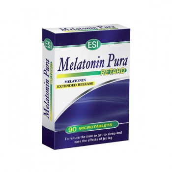 ESI MELATONIN PURA SLOW RELEASE FORMULA 60 TABLETS