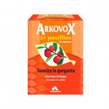 ACTIVOX® (ARKOVOX) HONEY LEMON FLAVOR 24 LOZENGES