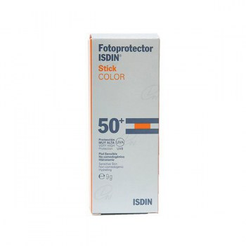 FOTOPROTECTOR ISDIN STICK COLOR SPF 50+ 9 G