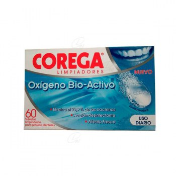 COREGA OXYGEN BIO-ACTIVE 30 TABLETS
