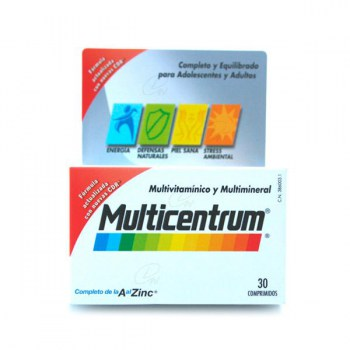 MULTICENTRUM 30 TABLETS (CENTRUM OVERSEAS)