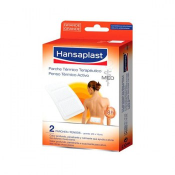 HANSAPLAST THERAPEUTIC HEAT PAD 2 UNITS