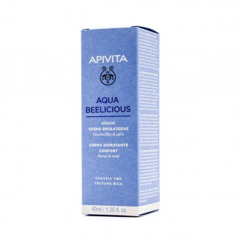 COMFORT HYDRATING CREAM RICH TEXTURE AQUA BEELICIOUS 40 ML