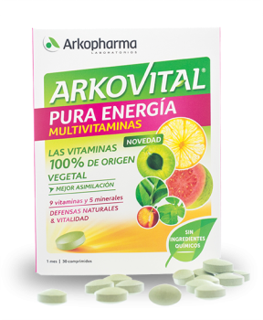 ARKOVITAL PURE ENERGY 30 TABLETS