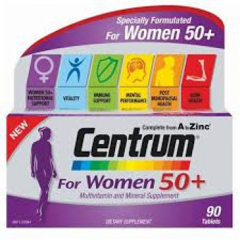 MULTICENTRUM WOMEN +50 (CENTRUM OVERSEAS) 90TABLETS