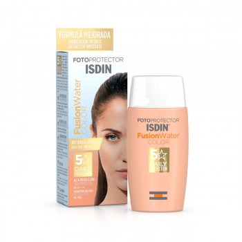 FOTOPROTECTOR ISDIN FUSION WATER COLOR SPF 50+ 50 ML