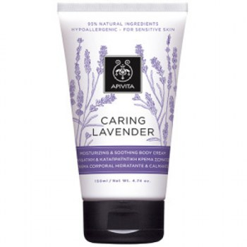 APIVITA CARING LAVENDER MOISTURIZING AND SOOTHING BODY CREAM